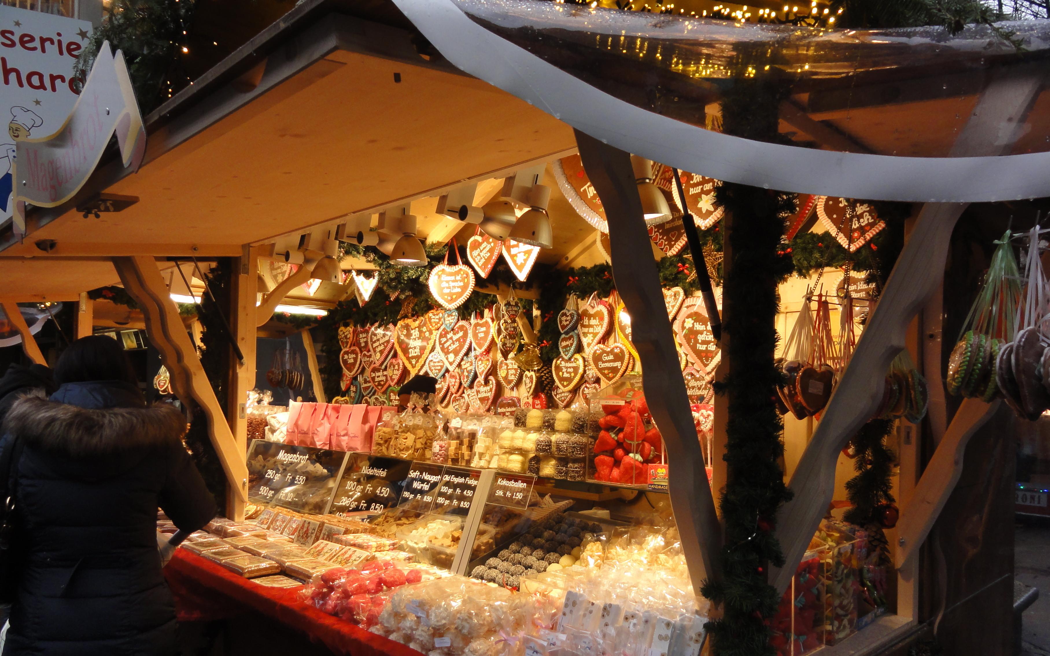 christmas market stall zurich
