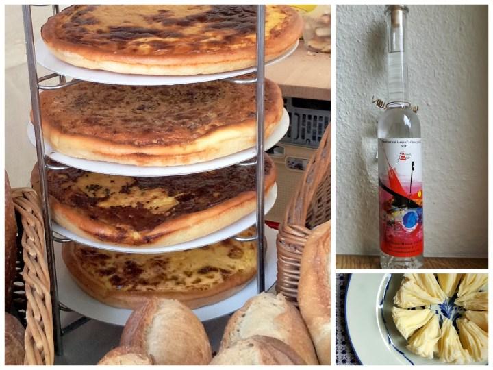 jura food collage