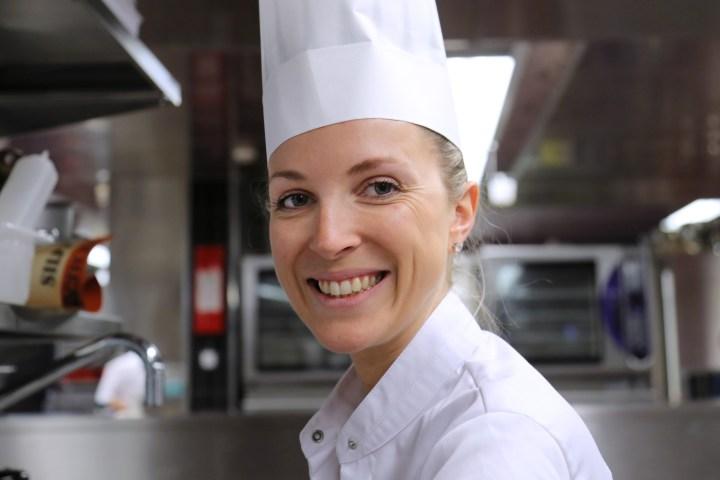 ZURICH/SWITZERLAND, 27.06.2016 - Swiss winner 2016: Anne-Sophie Taurines Chef, 'Restaurant et Club le Rouge ' – Verbier. Captured during the Swiss semifinals of S. Pellegrino Young Chef 2016 at Belvoir Park, Zurich/Switzerland. copyright by san pellegrino / photo by remy steinegger - www.steineggerpix.com