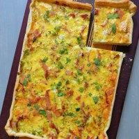 Recipe: Schabziger Quiche with Ham and Leeks