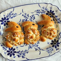 Recipe: Zopfhasen, Swiss Bread Bunnies