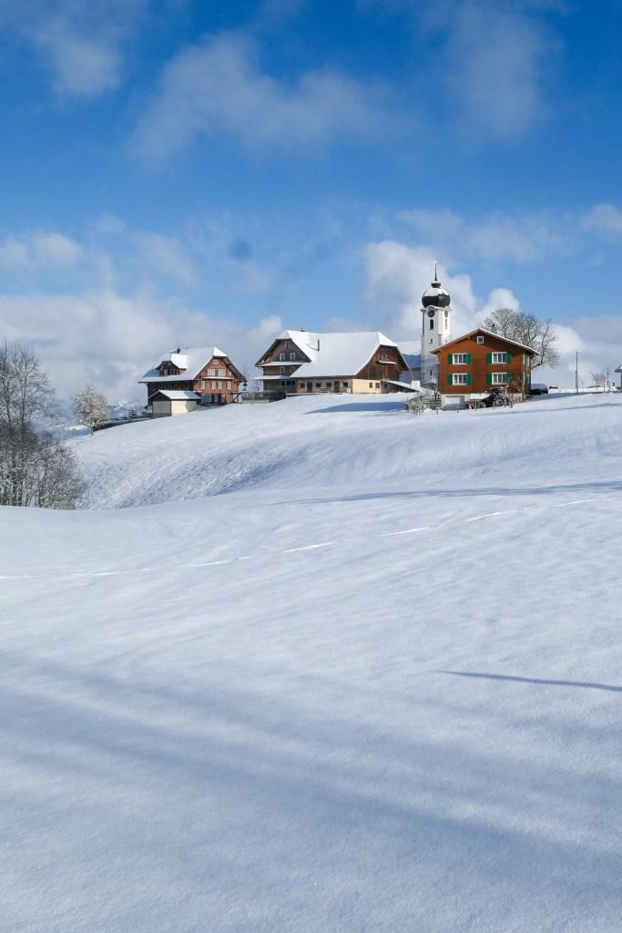 Heiligkreuz (Luzern) in the UNESCO Biosphere Entlebuch