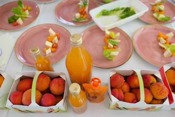 apricots valais