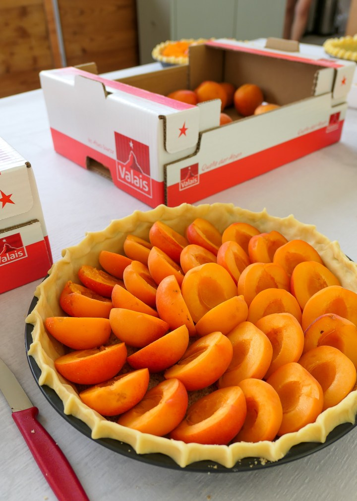 abricots valais