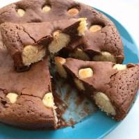 Moelleux au Chocolat et aux Boules de Coco