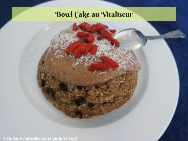 Bowl cake à la vapeur douce (Vitaliseur) - recette rapide et saine