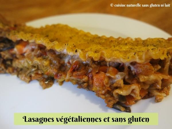 Lasagnes végétaliennes {vegan} et sans gluten