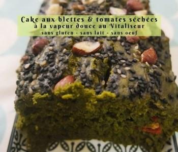Cake aux blettes et tomates séchées à la vapeur douce au Vitaliseur