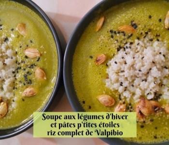 Soupe aux légumes d'hiver