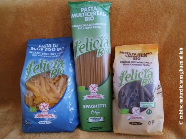 Félicia - pâtes sans gluten