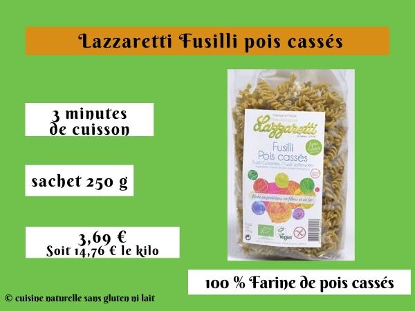 Lazzaretti Fusilli pois cassés