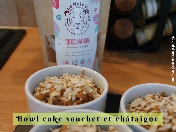 Bowl cake sans œuf au souchet