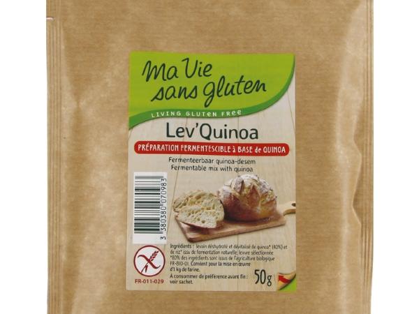 Levain sans gluten Ma vie sans gluten levain quinoa