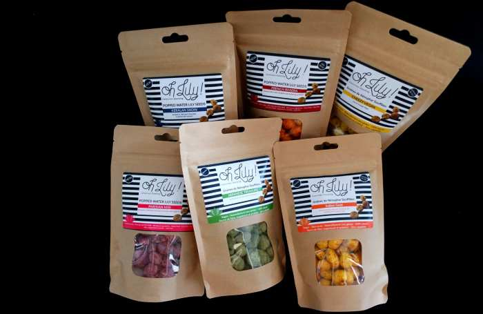 Oh Lily ! Snacks sains, originaux et très bons à base de graines de nénuphar soufflée
