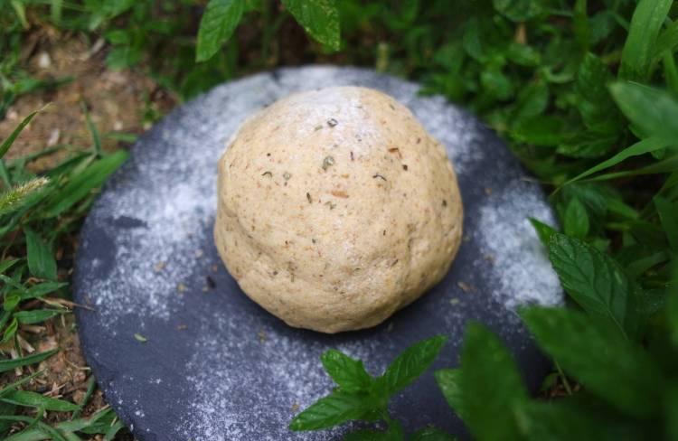 Pâte à tarte sans gluten farine de riz, millet et lentilles