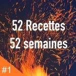 Affiche défi : 52 recettes en 52 semaines