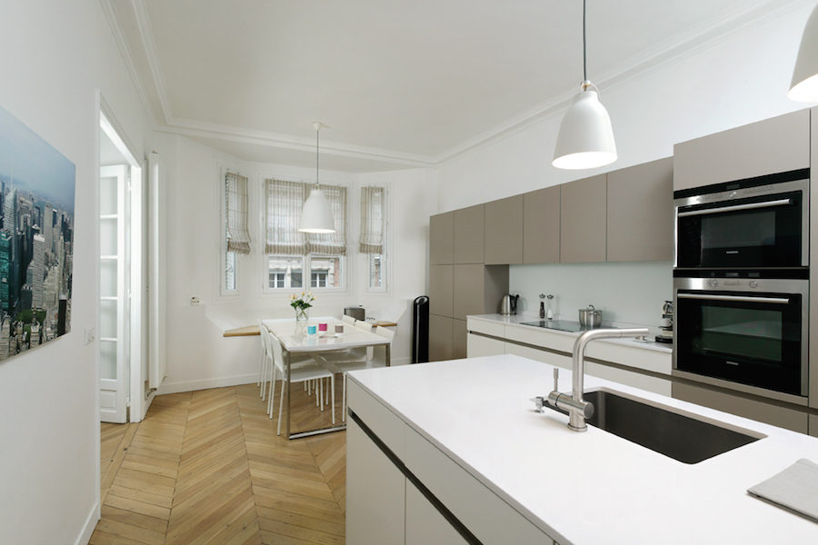 cuisine leicht la crois e des styles. Black Bedroom Furniture Sets. Home Design Ideas
