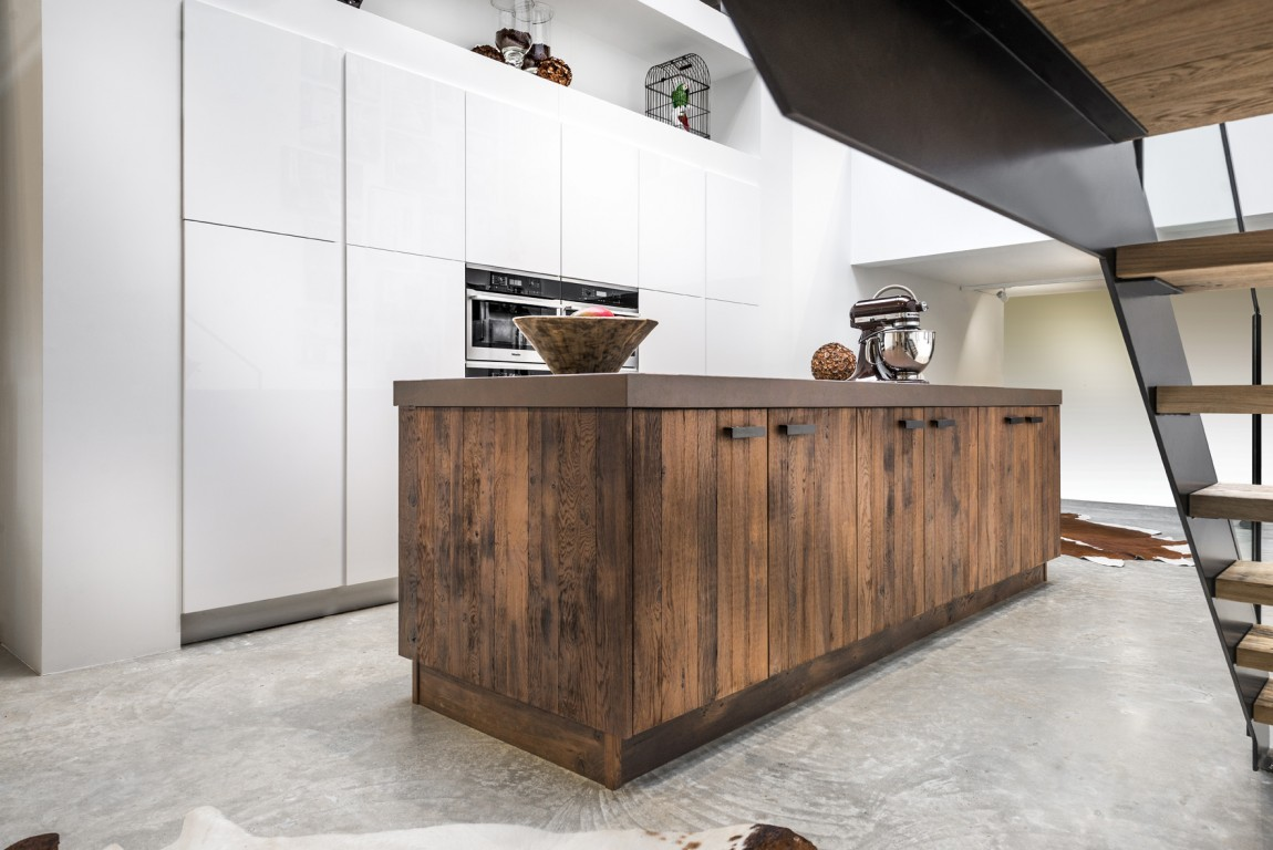 ilot de cuisine en bois