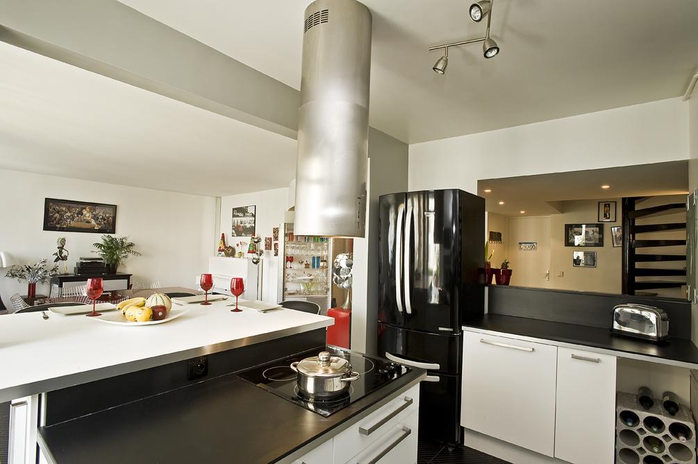 Cuisine m tamorphos e cuisines et bains - Cuisine amenagee contemporaine ...