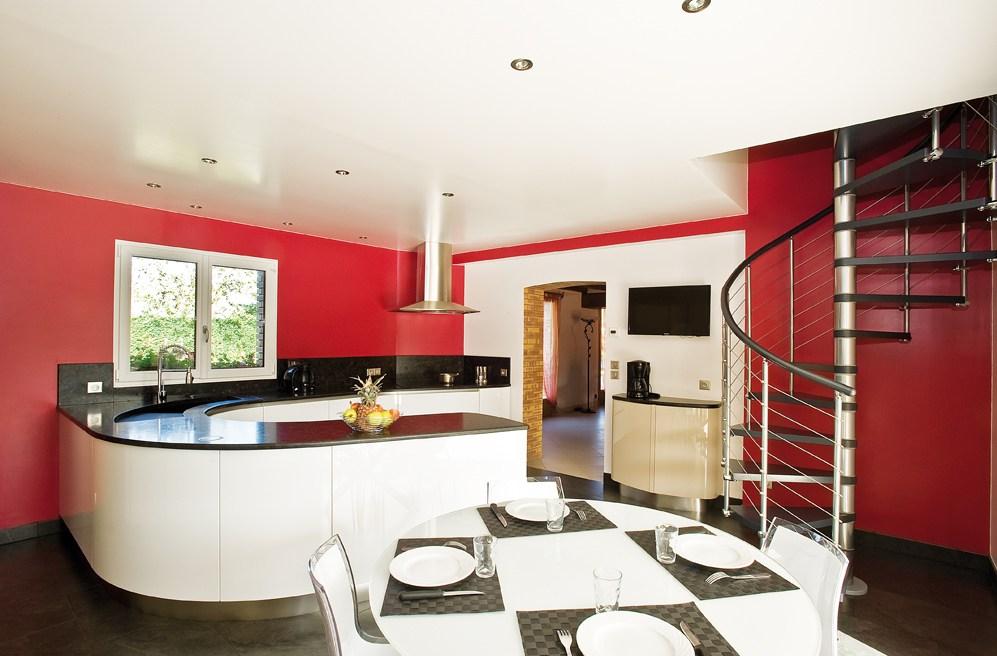Cuisine rouge d couvrez nos inspirations d co for Cuisine a la mode