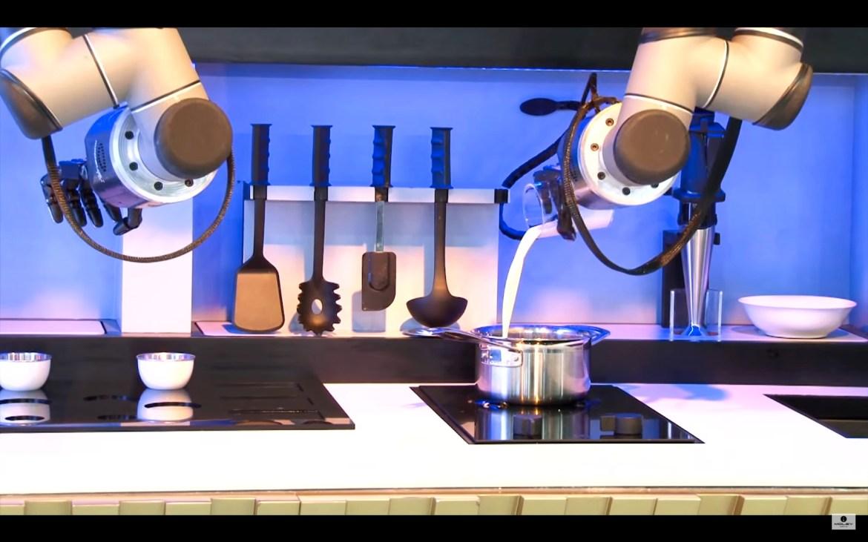 Ce robot va vous pr parer une cuisine de chef cuisines for Robot pour cuisiner