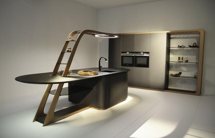 Chacun son style en cuisine cuisines et bains for Cuisine futuriste