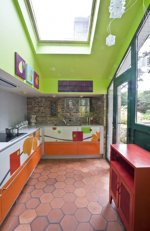cuisine Multi couleur