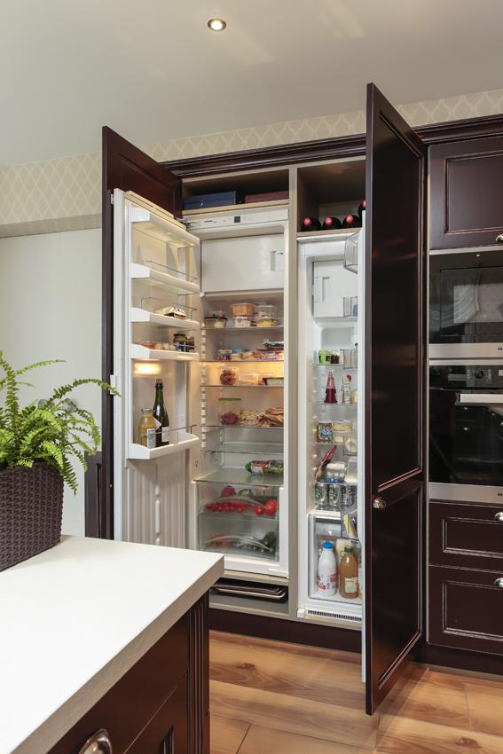 réfrigérateur intégré cuisine