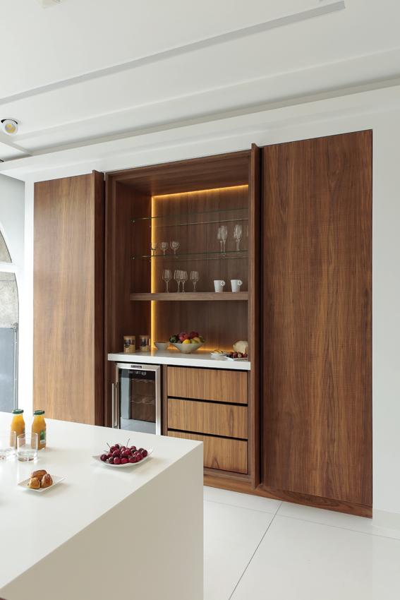 cuisine portes déboîtantes coulissantes