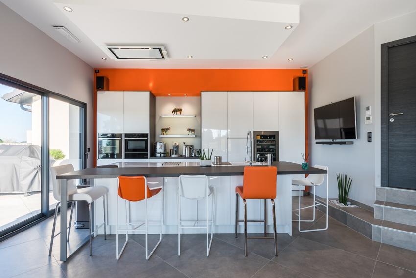 cuisine ilot orange