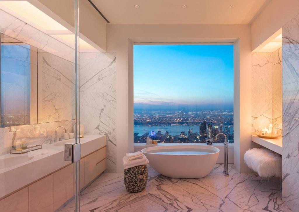 salle de bain new york