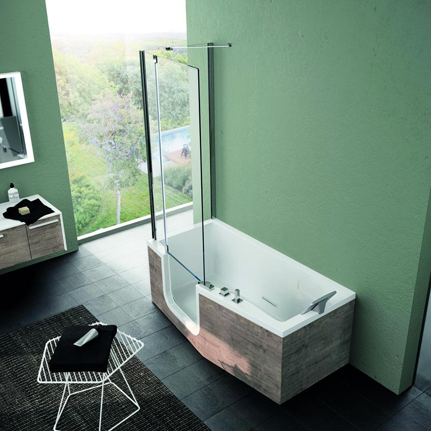 baignoire douche le meilleur des deux choix cuisines. Black Bedroom Furniture Sets. Home Design Ideas