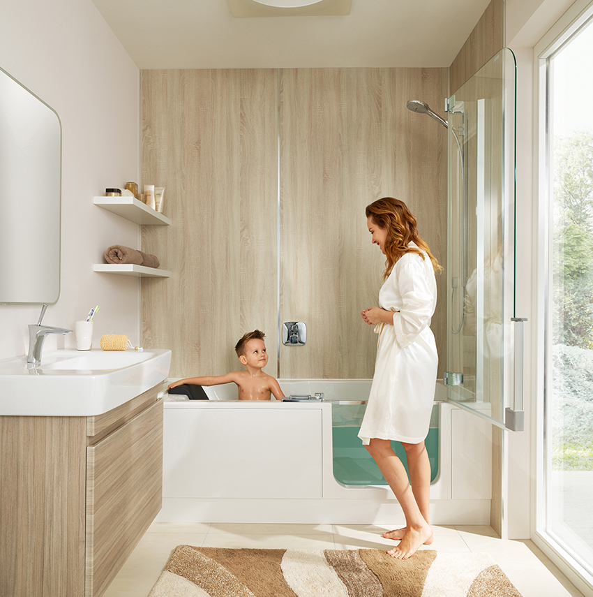 baignoire douche le meilleur des deux choix cuisines et bains. Black Bedroom Furniture Sets. Home Design Ideas
