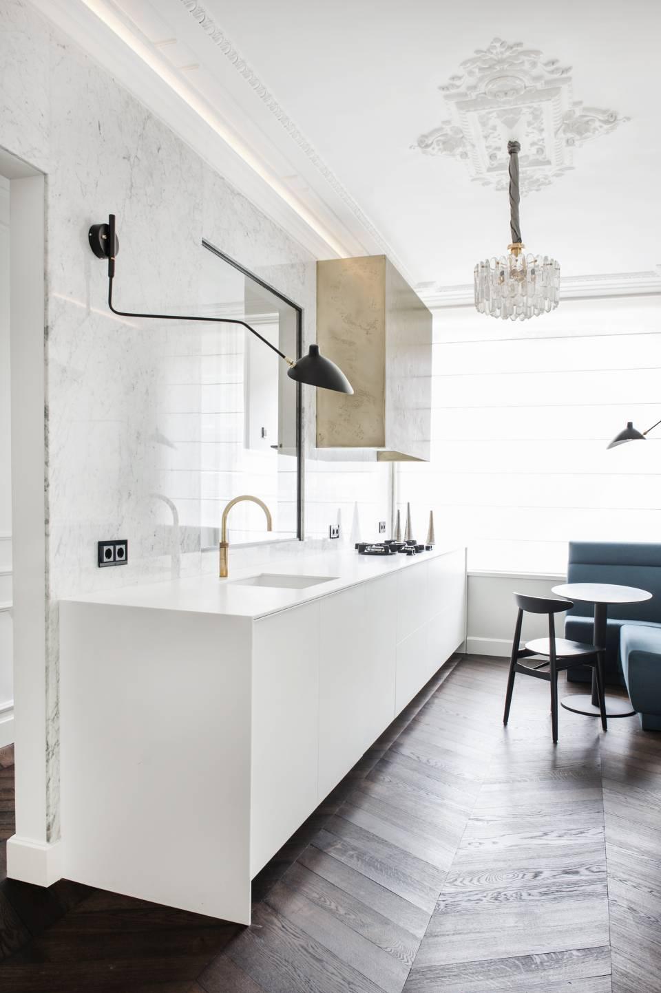 Salle De Bain Cuisine ~ cuisine et salle de bains optent pour le hi macs cuisines et bains