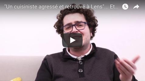 """""""Un cuisiniste agressé et retrouvé à Lens""""... Et alors ?"""