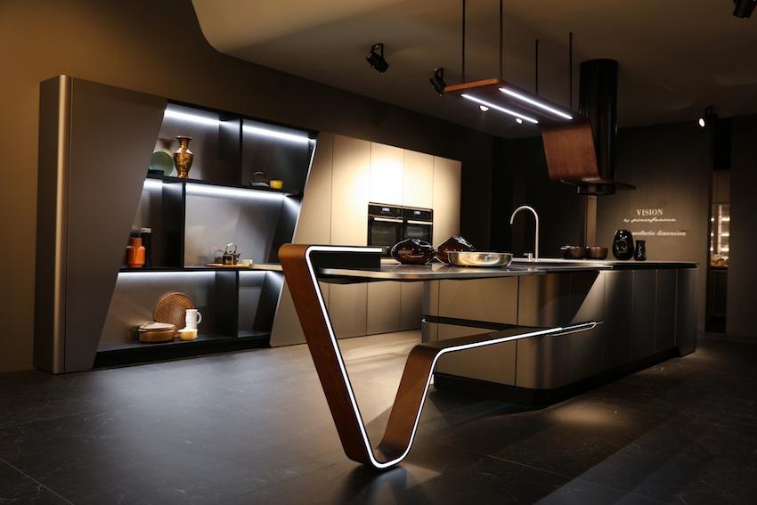 """Snaidero/Pininfarina : une nouvelle """"vision"""" de la cuisine"""