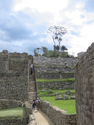 Machu Picchu–More steep pathways