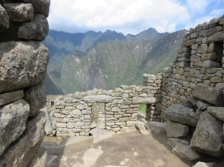 Machu Picchu–rougher masonry building