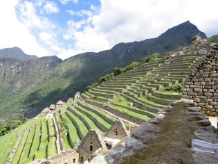 Machu Picchu–terraced hillside
