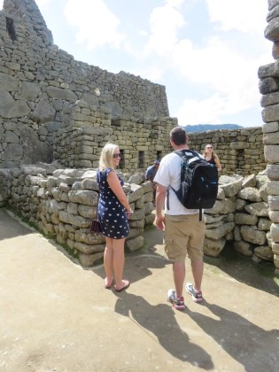 Machu Picchu–woman
