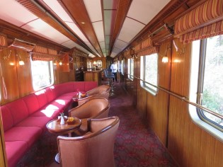 The Hiram Bingham train–Club Car