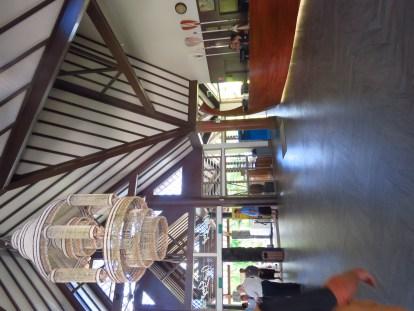 Samoa hotel lobby