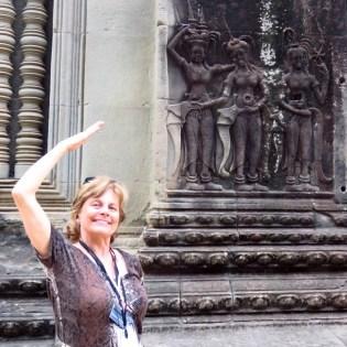 Angkor Wat-Apsaras and me