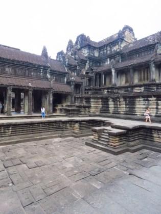 Angkor Wat–inner courtyard