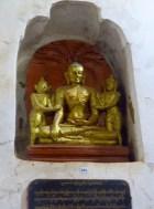 Bagan, Myanmar Ananda Temple, Buddha Teaching2