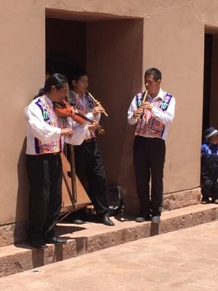 Chinchero–Musicians