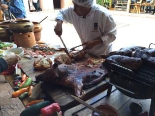 Chinchero-roast pig