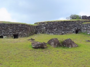 Easter Island–Orongo VIllage, Bird Man cult houses