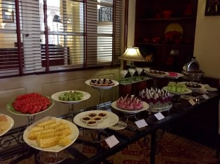Siem Reap–hotel lunch buffet, desserts