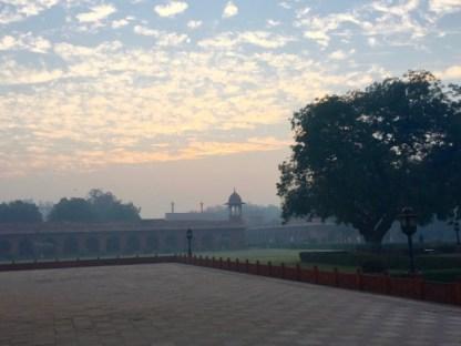 Agra, India–Sunrise
